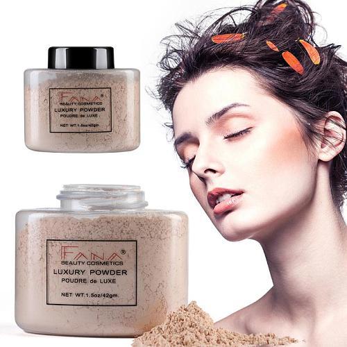 Banana Loose Powder Oil Control Long Lasting Face Makeup Highlighter Mineral Smooth Translucent Setting Powder Cosmetics TSLM1