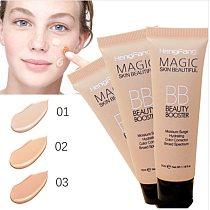 Pro Brighten Base Makeup Kit Sun Block Long Lasting  Waterproof Face Whitening Brand Foundation  BB Cream 3 Color