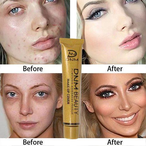 14Color Concealer Liquid Foundation Cream Cover Tattoo Acne ScarsConcealer Moisturizing Full Camouflaged Natural Brighten Makeup