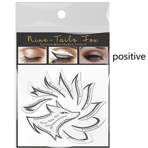 Non-woven Eye Makeup Stencils Eyeliner Template Shaping Tools Eyebrows Eye Shadow Makeup Template Tool Styling Drawing Guide