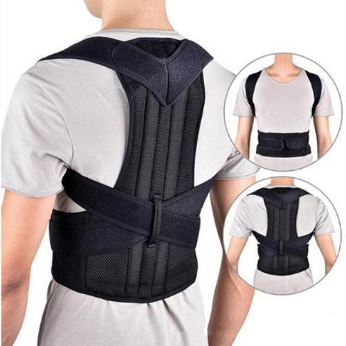Adjustable Posture Corrector Brace Back Support Shoulder Straightener Clavicle Spine Back Shoulder Lumbar Posture Corrector