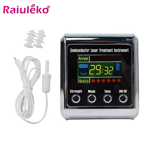 650nm Laser Laser Therapy Watch Diabetic Wrist Watch for Rhinitis Hypertension Treatment Sinusitis Therapeutic Apparatus