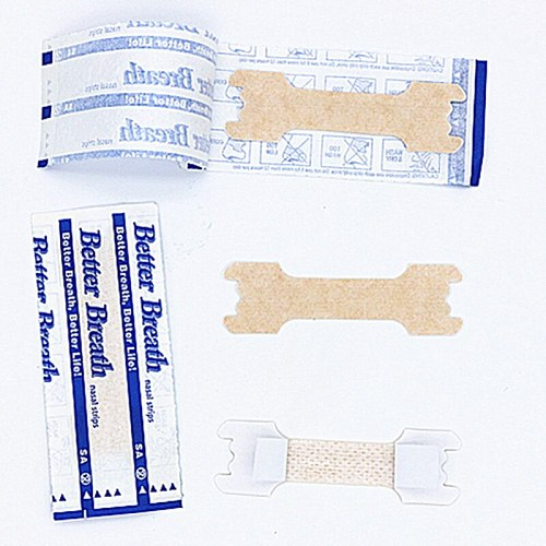 3000pcs/lot (55*16mm) New Arrival Breathe Right Stop Snoring Nasal Strip Sleep Better Anti Snore Nasal Strips