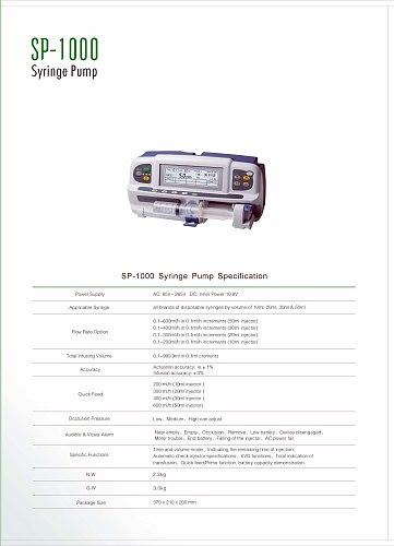 Free shipping single-channel li-battery based pump SP1000