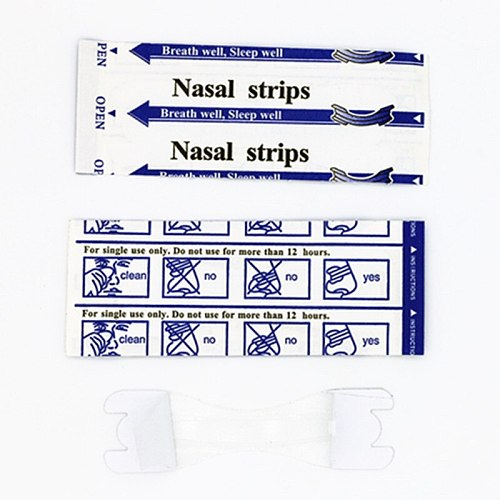 3000pcs/lot (66x19mm) better breath clear passage nasal strips to anti snoring