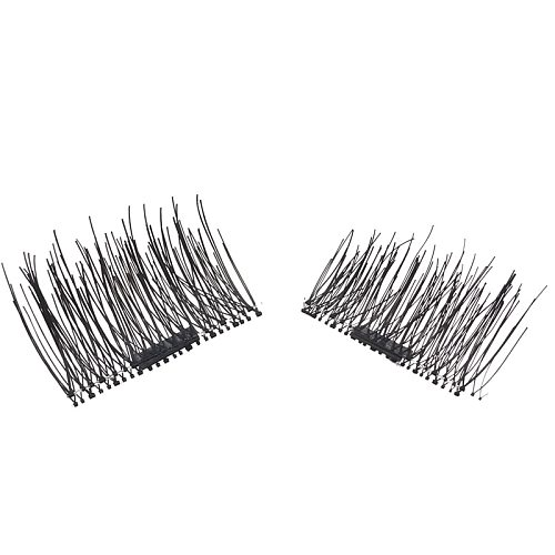 YSDO Magnetic Mink Lashes 1 Pair Magnetic EyeLashes Natural Hair Mink Lashes 3D Mink Fake Lash 100% Dramatic EyeLashes Fluffy