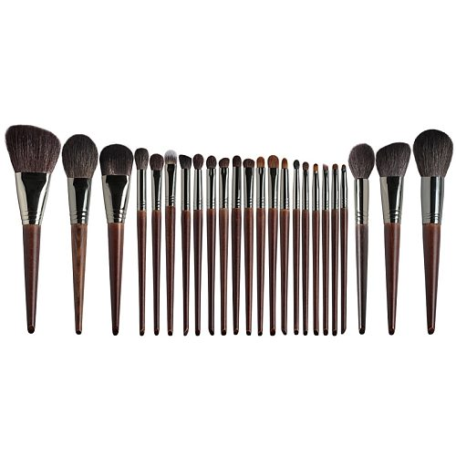 OVW Professional Face Makeup Brush Set Powder Contour Blush Highlight Overall Base Brush Set Goat Hair