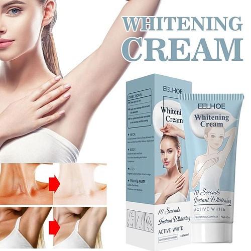 10 Seconds Instant Bellezon Whitening Cream Underarm Armpit Whitening Cream Legs Knees Private Parts Body Whitening Cream 60ml
