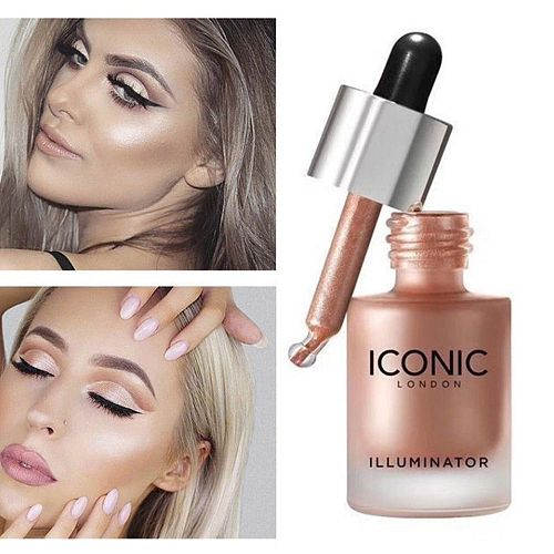 Makeup Highlighter Illuminator Contouring Makeup Face Brightener Concealer Liquid Highlighter Primer Face Glow Cosmetics