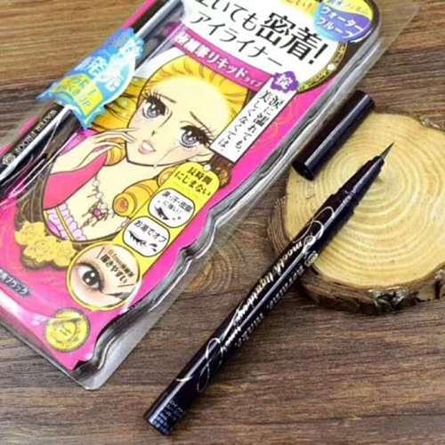 Newly 1 Pcs Liquid Eyeliner Ultra Slim 0.1mm Waterproof Smudgeproof Smooth Eyeliner Pen Lady Eyeliner Smooth Makeup Tool