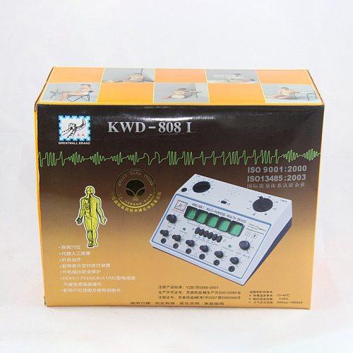 Electro Acupuncture Stimulator KWD808I 6 Output Patch Electronic Massager Care D-1A Acupuncture Stimulator Machine KWD-808 I