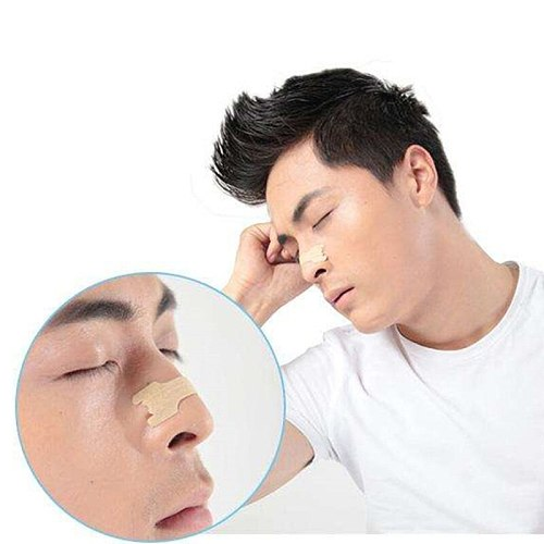 1000pcs/lot (66x19mm) Anti Snoring Device Stop Snore Better Breathe Nasal Strips Will Give You a Better Quality Night Sleep