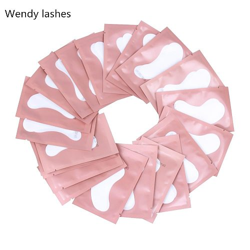 50/100 Pairs 2020 High Quanlity Eyelash Pad Gel Patch Grafting Eyelashes Under Eye Patches For Eyelash Extension Paper Sticker