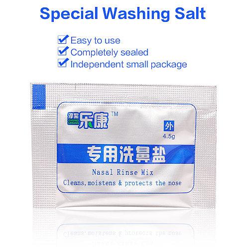 60pcs/120pcs Nasal Wash Mix Salt Cleaner Salt for Allergic Rhinitis Sinusitis Nose Cavity Protector Nosal Sinus Rinse Irrigation