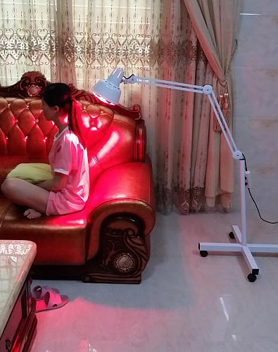 Floor Stand Massage TDP Infrared Therapy Heat Lamp Health Pain Relief Physiotherapy 275W Health Care Electric Infrared Light