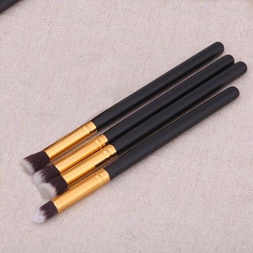 4pcs Professional Eyeshadow Makeup Brushes Kit Soft Cosmetic Eyeshadow Eye Liner Eyebrow Eye Cosmetic Makeup Brush Set Maquiagem