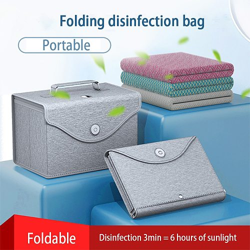 Nail UV Light Sterlizer Box Dry Heat Manicure Machine Portable Multifunction Underwear Makeup Phone Masks Desinfection Tools