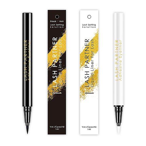 High Quality Eye Makeup Liquid Eyeliner Waterproof 24 Hours Long-last Magic Self-Adhesive Eyeliner Pen Make up EyeLiner Pencil