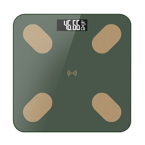 Body Fat Scale Smart Wireless Digital Bathroom Weight Scale Body Composition Analyzer With Smartphone App Large LED Display
