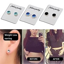 1Pair Womens Strong Magnet Magnetic Ear Stud Set Non Piercing Earrings Fake Earrings Gift for Girlfriend Lover Jewelry