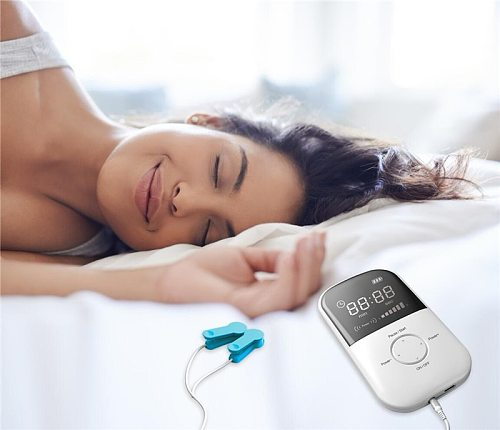 Factory wholesales Non-invasive Brain Stimulation CES Therapy Insomnia Cranial Electrotherapy Stimulation Anxiety Depression