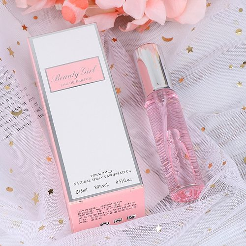 15ML Pink Unisex Long Lasting Perfume Men And Women Temptation Heterosexual Dropship