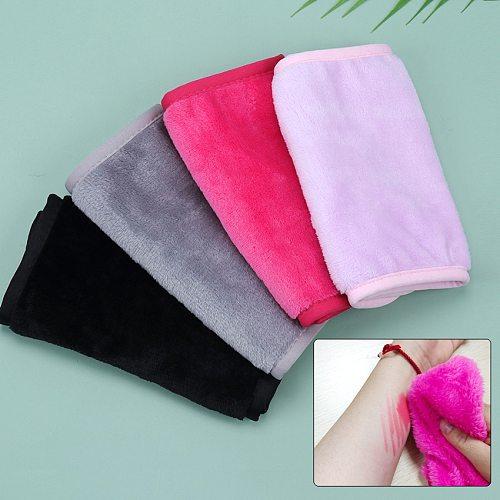 Girl Soft Reusable Face Cleaning Microfiber Towel Makeup Remove Pad Cloth Face Beauty Tools Bath Towel Product