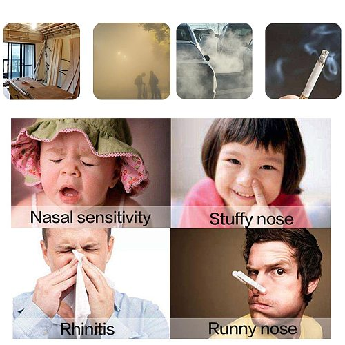 1Set 500/300ML Nasal Wash Cleaner Nose Protector Cleans Moistens Child Adult Avoid Allergic Rhinitis Neti Pot Blue Green Purple