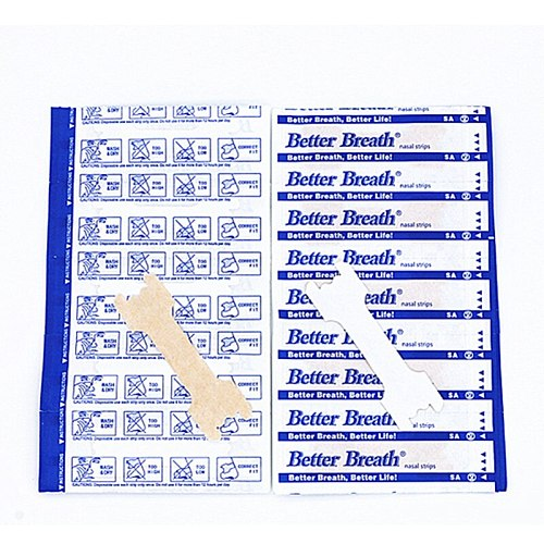 5000pcs/lot(55x16mm) New Products Stop Snore Nasal Strips Comfortable Easy Use Anti Snoring Nose Strip