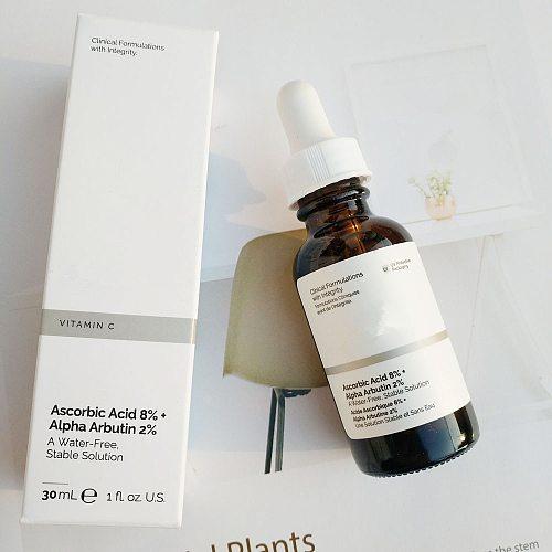 Face Makeup Ascorbic Acid 8% + Alpha Arbutin 2% A Water-Free Stable Solution Vitamin C Brighten Skin Tone Ordinary Primer Base