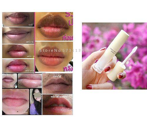 Pink Natural Lightening Lip Bleaching Treatment Cream Bleach Dark Black Smoke