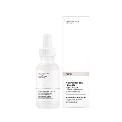 Canada Ordinary Niacinamide 10% + Zinc 1% High Mineral Essence Regulates Sebum and Minimizes Pores Makeup Primer Facial Serums