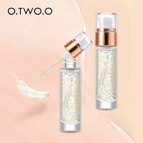 O.TWO.O Professional  Makeup Primer Anti-Aging Moisturizer Face Care Essential Oil Makeup Base Liquid 18ml Makeup Skin Care