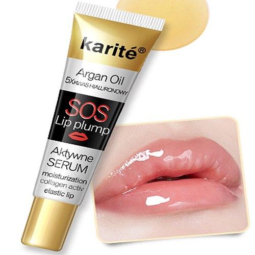 Instant Volumising Pulp Lips Plumper Collagen Lip Plumping Gloss Moisturizer Repair Lip Extreme Volume Essence Lips Enhancer Oil