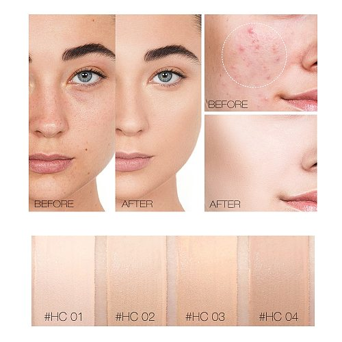O.TWO.O Liquid Concealer Cream Waterproof Full Coverage Concealer Long Lasting Face Scars Acne Cover Smooth Moisturizing Makeup