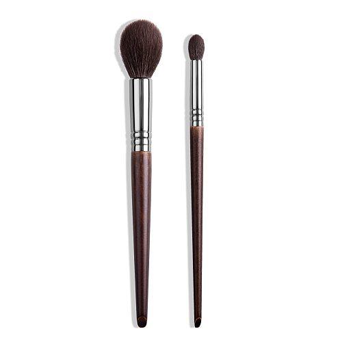 OVW Goat Hair Profesional Brush Makeup Kit Set Natural Brochas Maquillaje Make Up Tapered Blender Highlight Brush Blusher