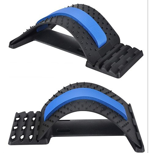 ABS material kidney belt lumbar disc protrusion tractor waist strain massage home appliance folding pressure arc cushion