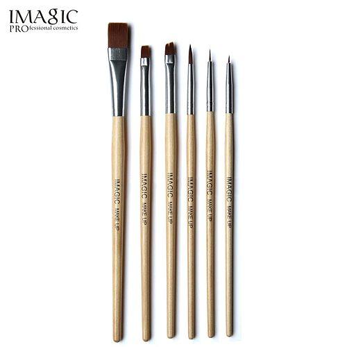 Makeup Body Paint 6Pcs Makeup Brushes Cosplay Art Schmink Foundation Powder Eyeshadow Cosmetics Make Up Brushes Set Tools Kit