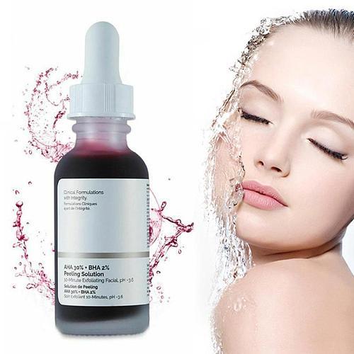 Mask Facial Serum AHA 30%+ BHA 2% Remove Acne Scars Essence Niacinamide Salicylic Acid Hyaluronic Ordinary Essence Face Serum