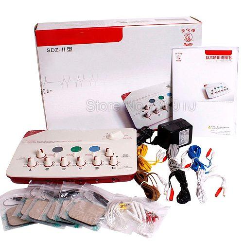 Hwato SDZ-II 6 Channels Output SDZ II Massage Machine Support 110-220V or Battery