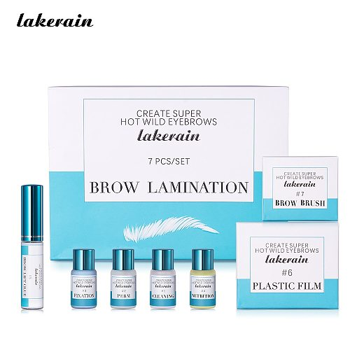 Lakerain Brow Lamination Kit Safe Brow Lift Eyebrow Lifting Protable Kit Eyebrow Professional Beauty Salon Brow Lamination Set