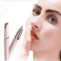 Electric Eyebrow Trimmer New Design Makeup Painless Eye Brow Epilator Mini Shaver Razors Portable Facial Hair Remover Tools