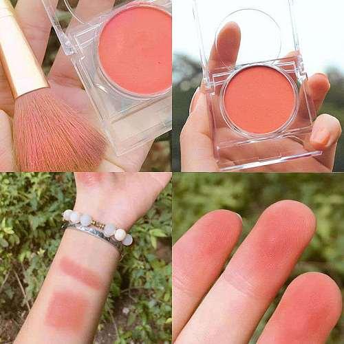 5-color matte blush long-lasting natural color without fading monochrome blush waterproof moisturizing facial makeup cosmetics