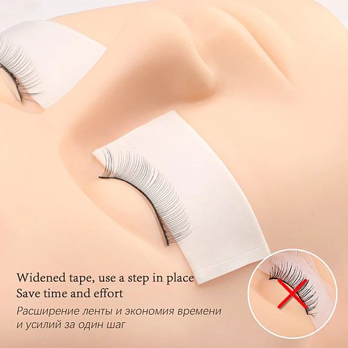 5m/Roll Foam Sponge Lash Patch Medical Eyelash Sticker Tape Lint Free Eyelash Pads Under Eye Patches Eyelash Extension Supplies