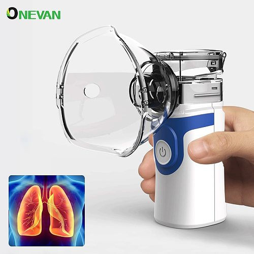 USB Charge Inhaler Nebuliser Rechargeable Silent  Humidifier For Adult Baby Baby Handheld Respirator Portable Medical Devices