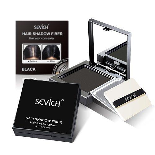3 Colors Hair Concealer Powder Instantly Cover Up Sevich 12g Hair Line Powder Waterproof Dark Brown Hair Shadow Powder TSLM1