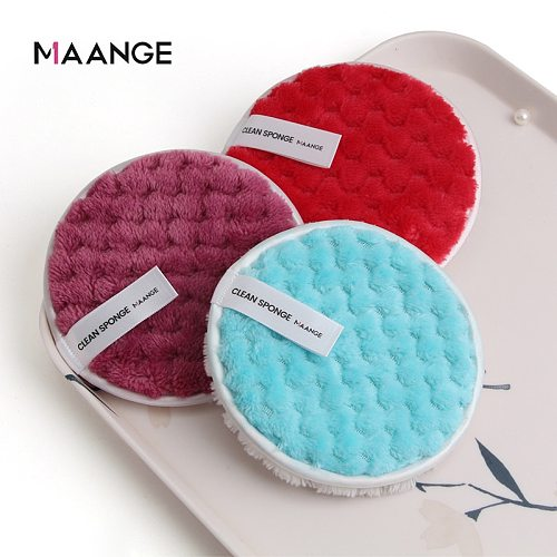Reusable Makeup Remover Pads Cotton Wipes Microfiber Make Up Removal Sponge Cotton Cleaning Pads Tool makeup remover cloth