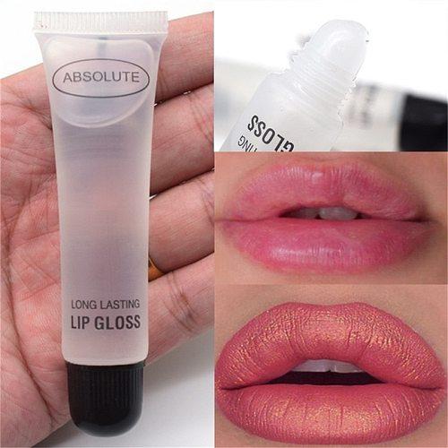 Moisturizer Plumper Lip Gloss Big Lips Gloss Base Long Lasting Sexy Lips Pump Transparent Waterproof Volume Lip Clear Lipgloss