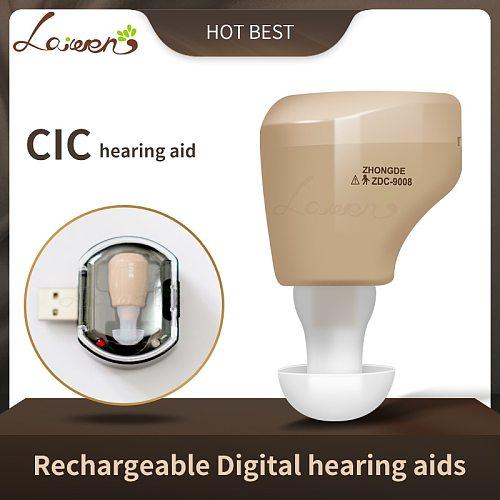 CN900B Mini Rechargeable Hearing Aids Mini Hearing Amplifier Ear Sound Amplifier Hearing Aids Rechargeable Hearing Aid