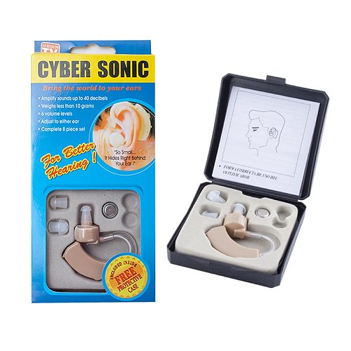 Portable Hearing Aid Mini Ear Sound Amplifier Adjustable Ear Hearing Amplifier Aid Kit Tone Hearing Aids for the Deaf/Elderly